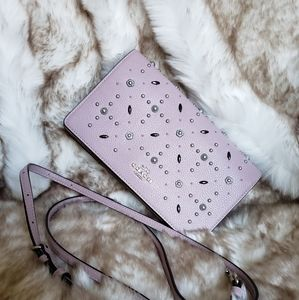 Coach Hayden Crossbody Clutch with Rivets